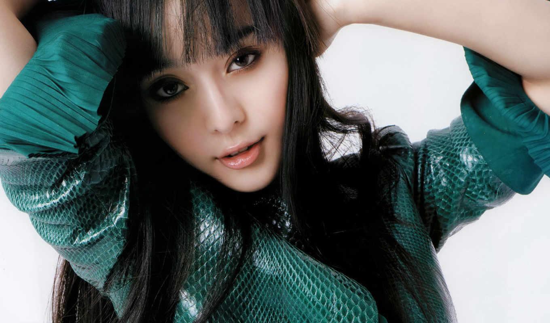 fan, bingbing, pretty, resolution, наряд, girl, китаянка, зелёный, girls, like, картинка,