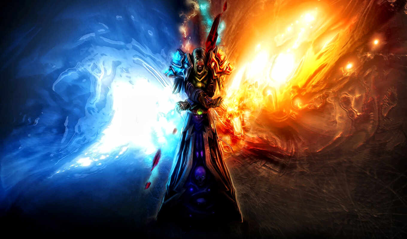 world, glacial, inferno, warcraft, cataclysm, infern, glaciar, desktop, free, hintergrundbilder,