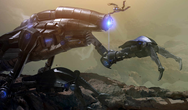 dark, игры, robot, космос, void, случайные, games, game, роботы, cosmic,