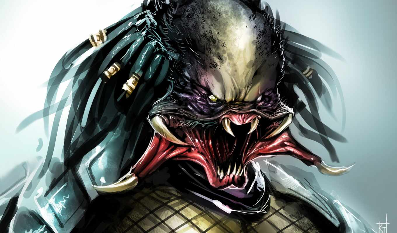 хищник, monster, art, fentezti, hunter, game, therisingsoul, movie