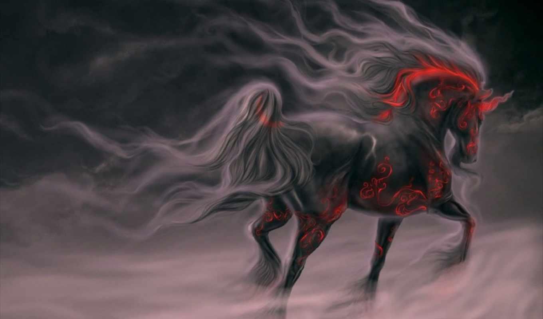 darkness, fog, gothic, hourse,