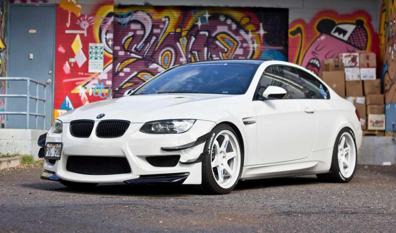 bmw, автомобили, картинка, white,