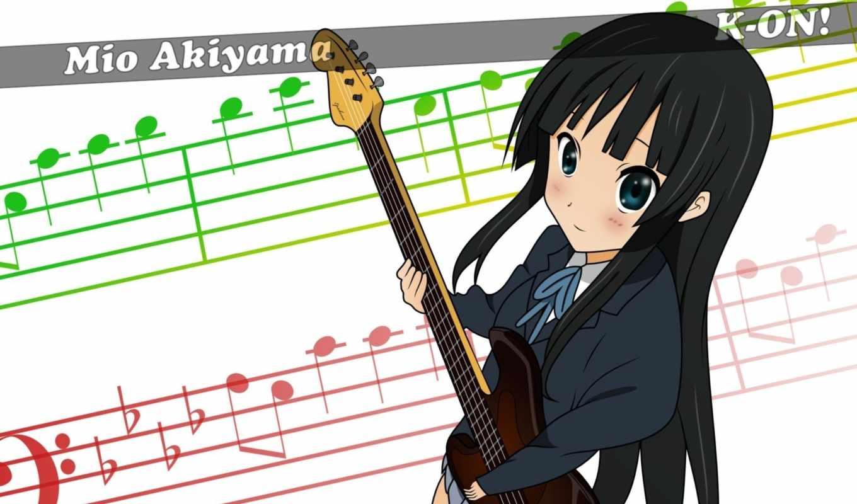 mio, bass, akiyama, fuwa, time, jazz, fender, pictures, anime,