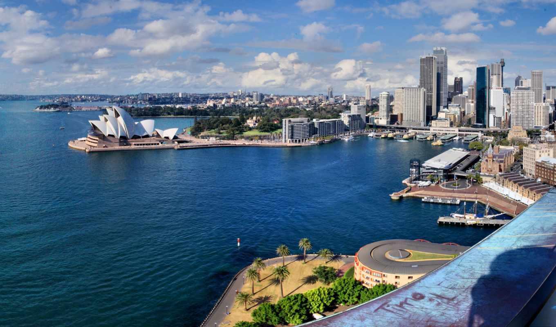 картинка, красиво, вид, sydney, full, австралия, картинку, city, подборка, большая, микс,