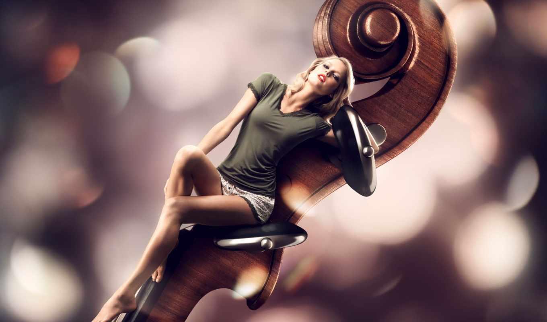 devushka, скрипка, werderitsch, kathrin, модель,