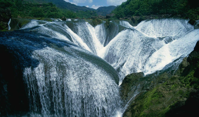 водопад, pearl, водопады, реки,