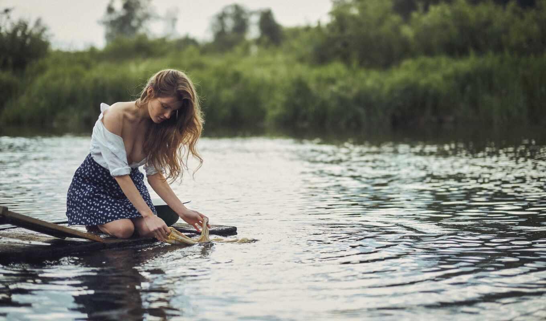 девушка, wash, река, niki, фотограф, website, версия, user, water, zrelost