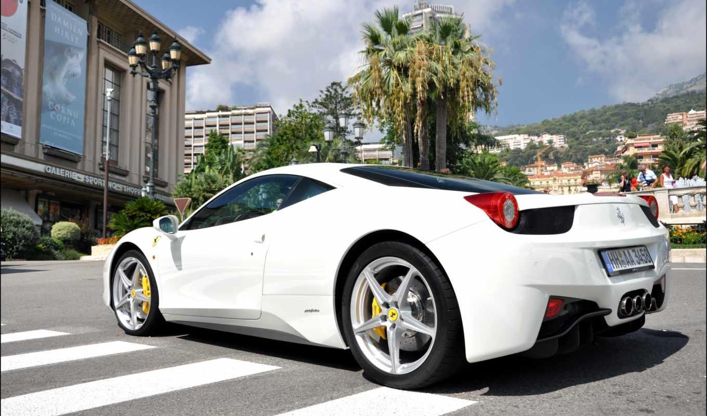 ferrari, cars, italia, white, эмблема, racing, vehicles, high,