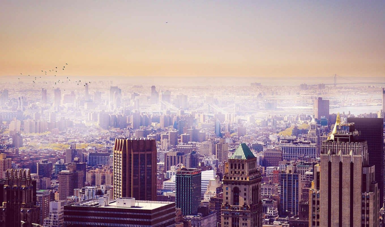 город, york, нью, new, небоскребы, города, usa, здания, cities, skyscrapers, town,