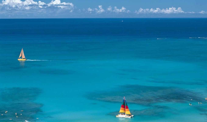 море, water, остров, моря, ponds, relaxing, screensaver, ocean,