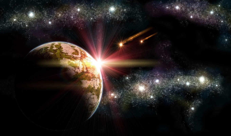 путь, млечный, космос, звезды, planet,
