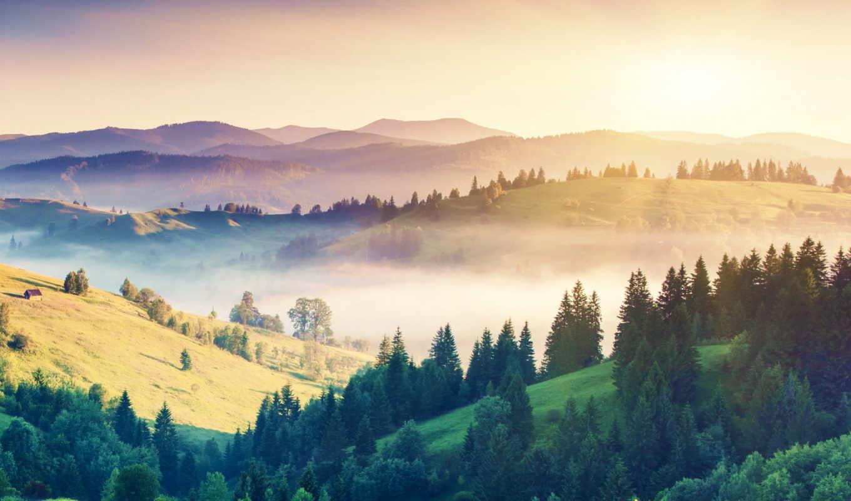природа, природы, красивые, горы, landscape, просматриваются, slide, показать, заставки, режиме,