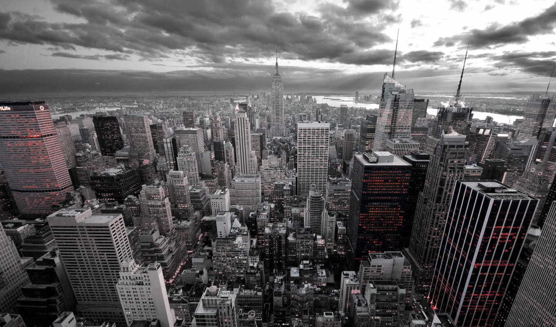 город, new, york, йорк, нью, kinkade, города, проспект, жизни,