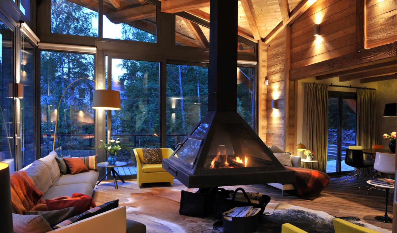 камин, house, интерьер, design, мебель,