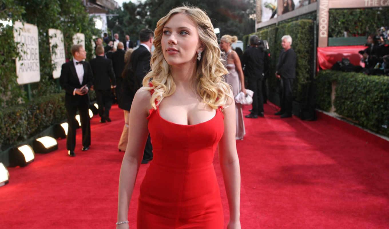 платье, красное, скарлетт, йоханссон, смотреть, грудь, red, женщин, актриса, любом, подходит,