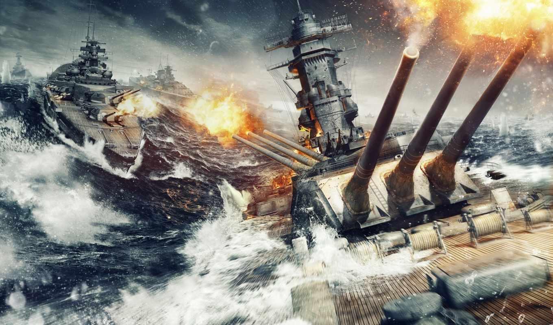world, warships, кораблей, wargaming, огонь, корабль, игры, wows,