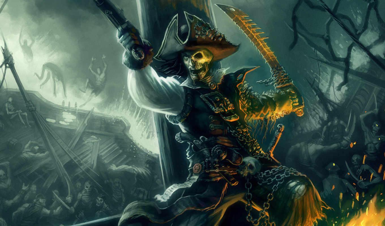 пират, рисунок, фото, кинжал, череп, разреше,