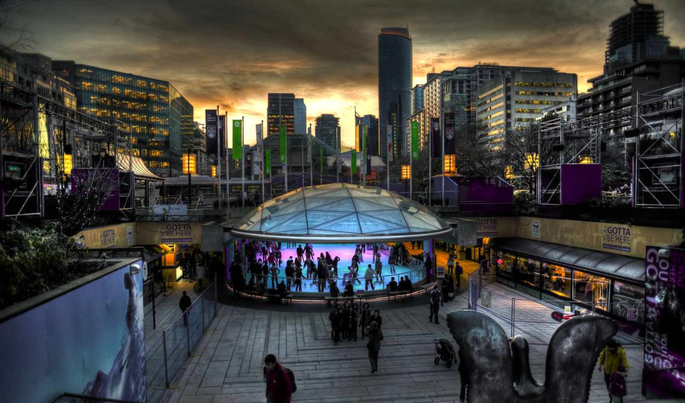 vancouver, downtown, best, robson, города, londsdale,