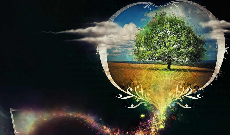 new, мечта, вирус, дерево, desktop, йфм, облака, great, widescreen, itsmyideas, minds, this, компьютер, download, share,