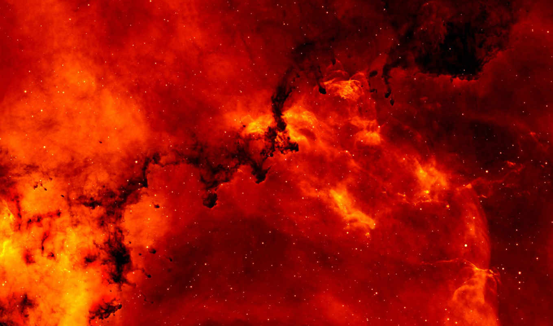 космос, звезды, хабл, красный, туманность, картинка, minus, chat,