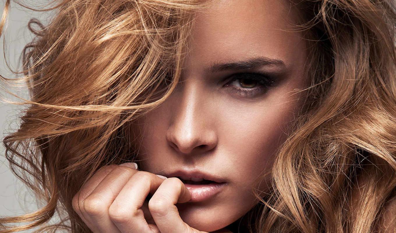 купон, девушка, волосы, свет, лицо, записи, воспользоваться, волосами, макияж, за,