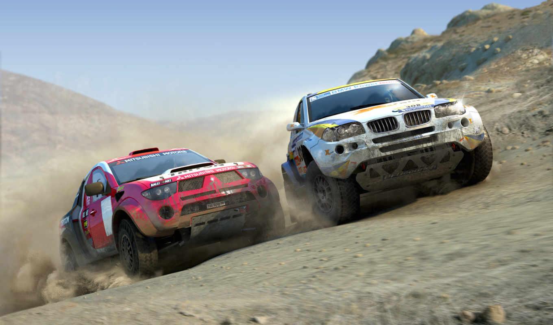 dirt, colin, игра, mcrae, bmw, mitsubishi, гонки, road, машины, off, раллийных, гонках, против,