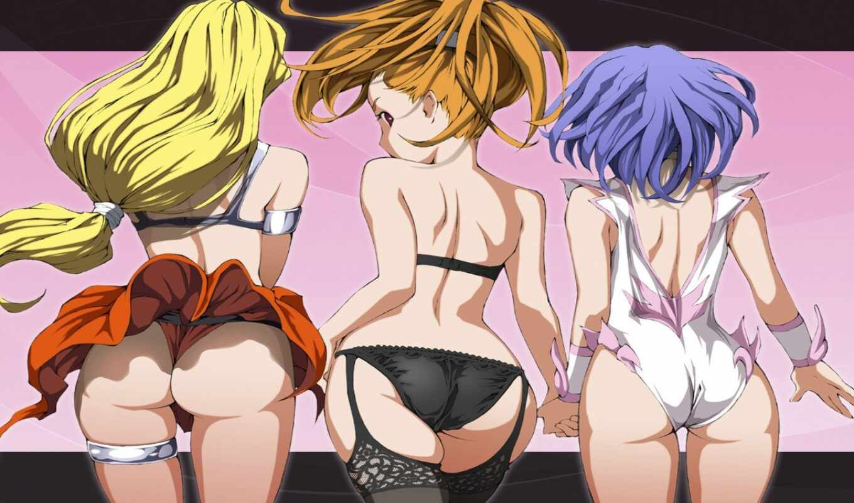 аниме, эротика, девушки, порно,