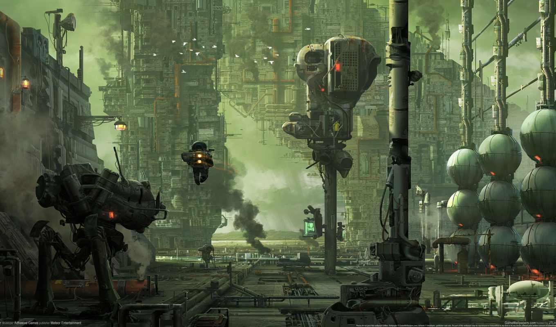 игры, hawken, роботов, игр, об, обзор, online, роботы, новости, game, shooter,