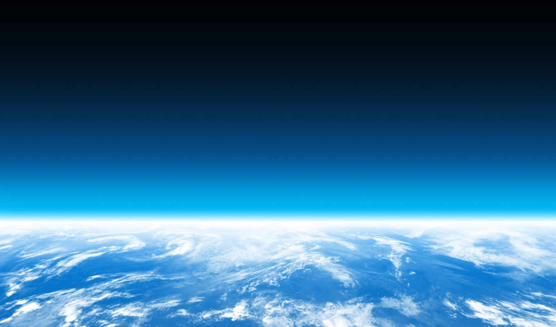 много, планета, горизонт, картинка, картинку, кнопкой, атмосфера, небо, вода, мыши,