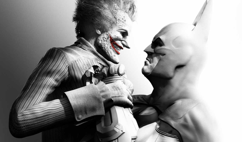batman, arkham, joker, city, origins, бэтмен, den, new, game, blackgate, во,