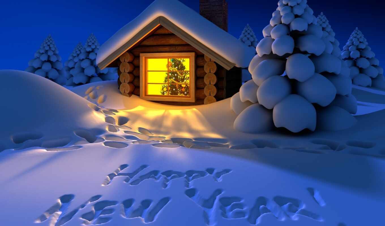 новогодние, дек, года, нового,