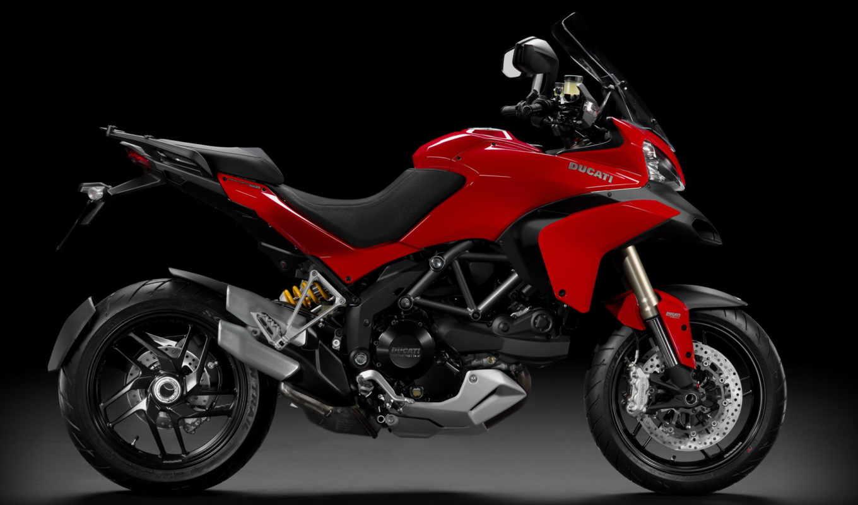 ducati, multistrada, мотоцикл,1200s