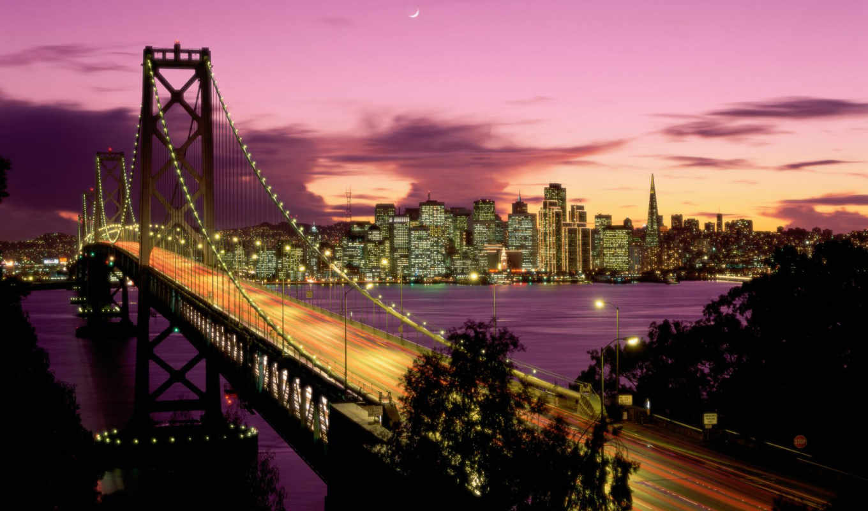 мост, bay, san, картинок, фотографий, нью,