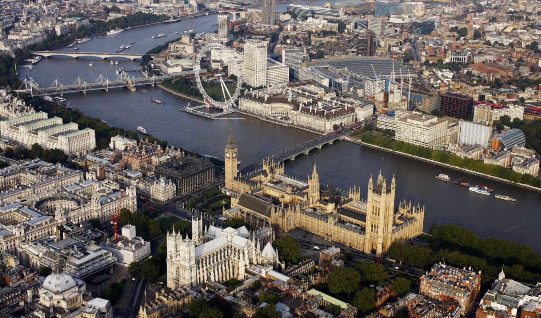столица, british, ук, великобритания, город
