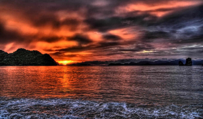 природа, wallpaper, and, sunset, photo, links, playbook,