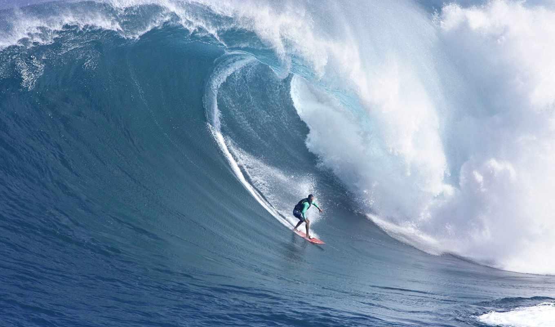 сёрфинг, море, волна,
