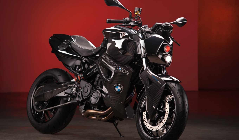 bmw, predator, custom, bike, vilner, бмв, static, red,