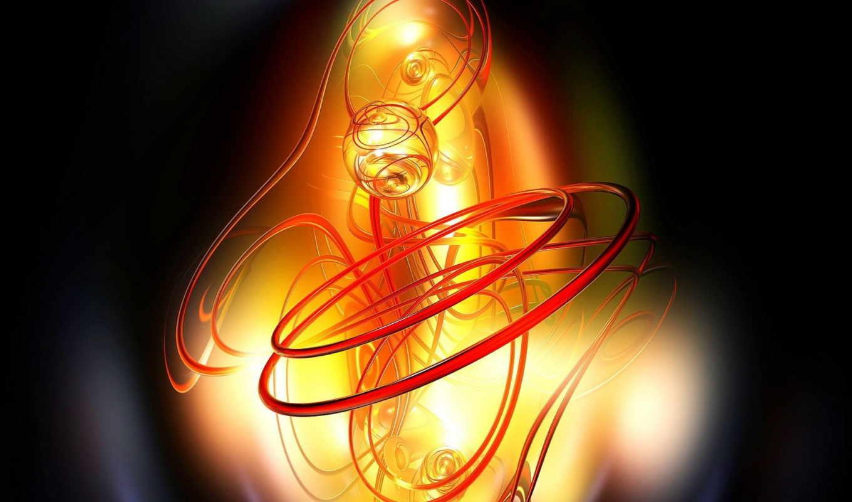 линии, абстракция, красные, графика, абстрактные,