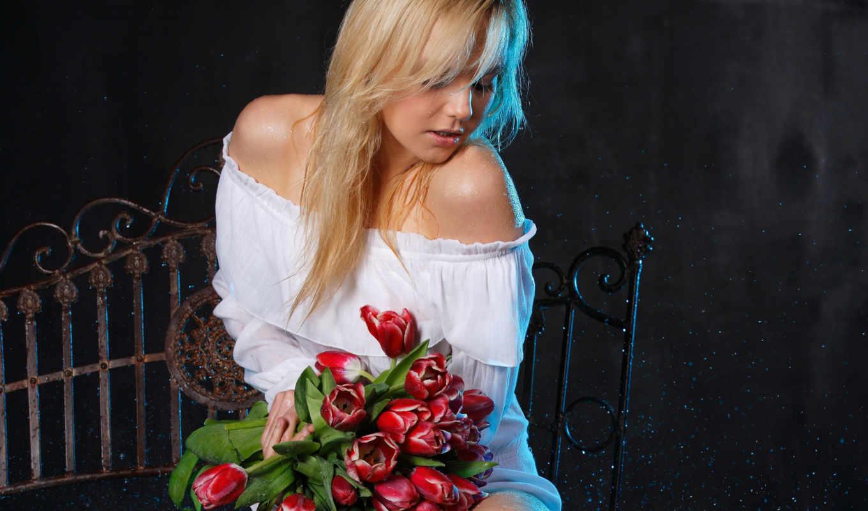 girls, количество, под, коллекция, часть, тюльпаны,