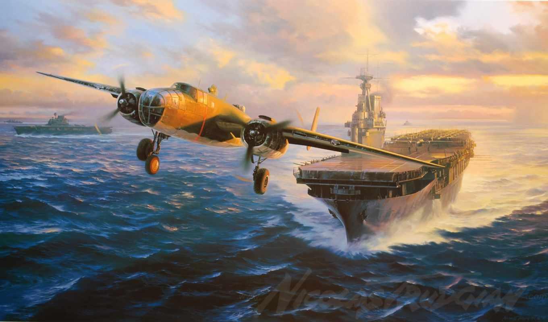 second, world, planes, войны,