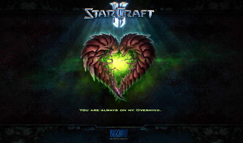 starcraft, игре, wings, liberty, сердце, swarm,