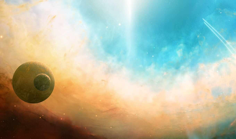 planet, свет, nebula, weed, star, тело, космос, астрономия, фон, сияние, презентация