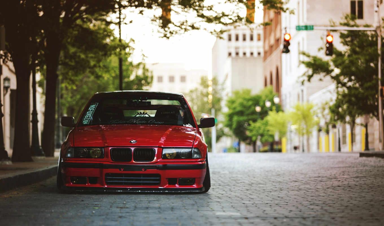 ,bmw,красный,машина,