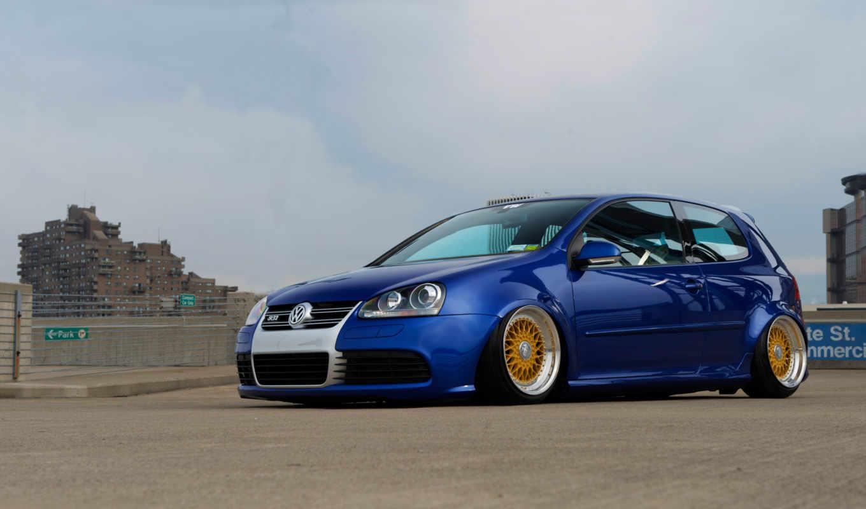 гольф, машины, volkswagen, синий,