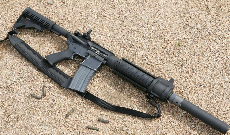 ,автомат, M4A1, Silencer,