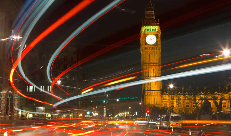 англия, london, бен, биг, ночь,