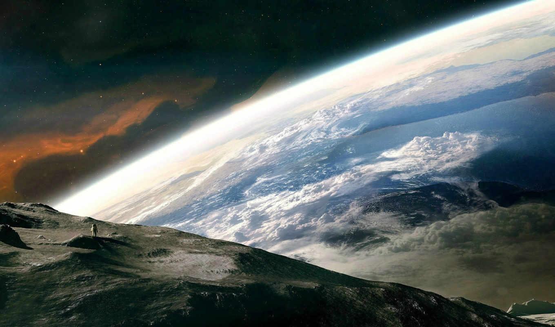earth, космос, desktop, изображение, free, planet,