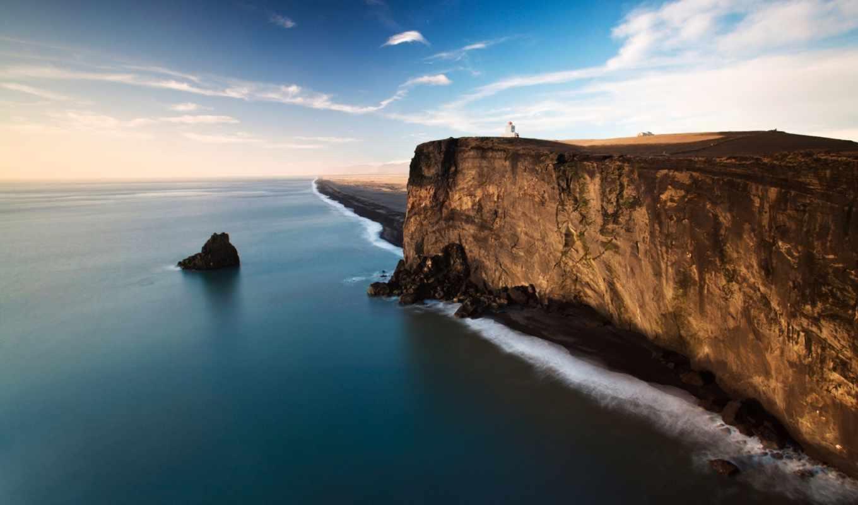 ocean, break, берег, море, скалы, природа,