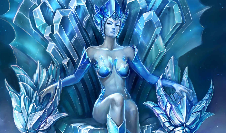 fantasy, королева, снежная, bounty, игры, games, лед, трон, girls, king, graphics, kings, legend,