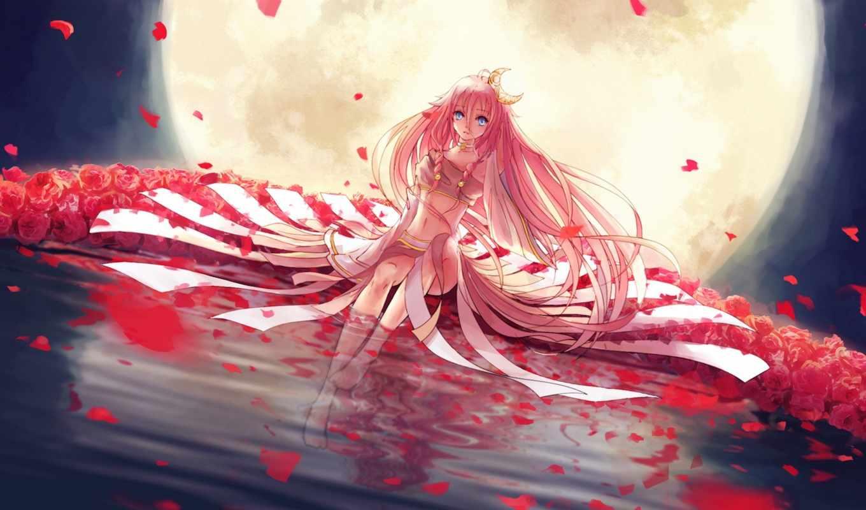 vocaloid, ia, девушка, art, kun, vorbei, anime, бен, feat, water,